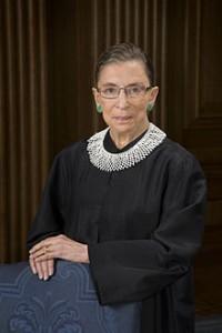 RUTH BADER GINSBURG ● Jueza de la Corte Suprema