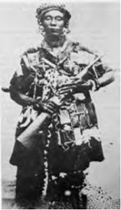 Reina Madre Nana Yaa Asantewaa (foto de fecha desconocida)