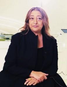 Zaha Hadid en el año 2015