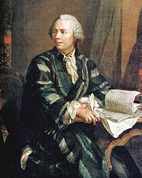 Leonhard Euler por Jakob Emanuel Handmann (hacia 1756) Deutsches Museum, Múnich.
