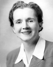 Rachel Carson, bióloga marina y ecologista.