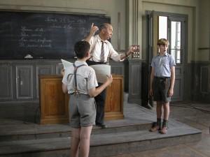 Autoestima en niños. Fotograma de la película Los chicos del coro (2004).