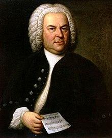 Retrato de Bach por Elias Gottlob Haussmann en 1746, Museo de la Ciudad de Leipzig.