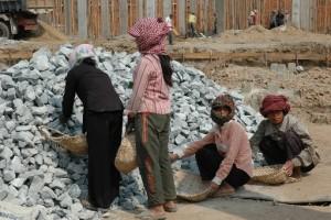 Las mujeres comparten la tierra, Camboya. © ONU-Hábitat