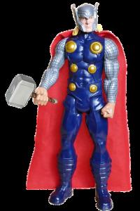 ¿Cuánto pesa el martillo de Thor?