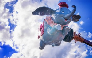 Dumbo en el Magic Kingdom, Disney World Orlando, FL