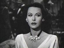 Hedy Lamarr, inventora y actriz.