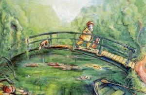 El jardín mágico de Claude Monet (Laurence Anholt)