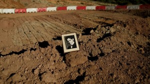 Punto en el que se excavó en 2016 para hallar los restos del poeta (GYI - Pablo Blazquez Dominguez)