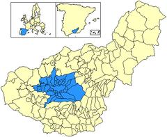 Ubicación de Vega de Granada