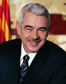 Retrato oficial de Pasqual Maragall.