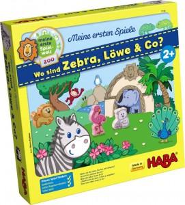 Dónde están la zebra, el león y compañía