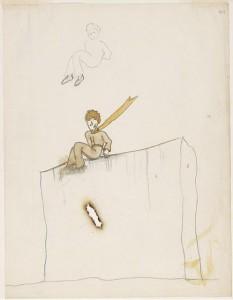 'El principito', acuarelas originales de Antoine de Saint-Exupéry.