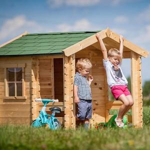 Casitas de madera de jardín para niños