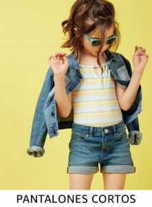 Comprar pantalones cortos para niña online