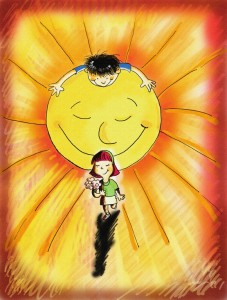 Si yo fuera Sol, dibujo de Adriana Juárez