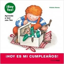 Los libros de Teo | ¡Hoy es mi cumpleaños! | +5 años