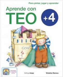 Los libros de Teo | Aprende con Teo +4