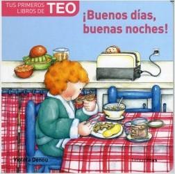 Los libros de Teo | ¡Buenos días, buenas noches! | +1 año