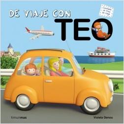 Los libros de Teo | De viaje con Teo | +3 años