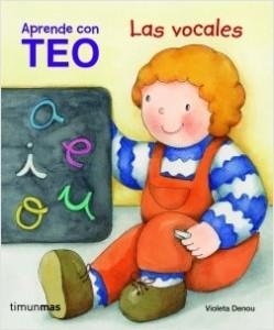 Los libros de Teo | Las vocales | +3 años