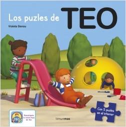 Los libros de Teo | Los puzles de Teo | +3 años