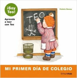 Los libros de Teo | Mi primer día de colegio | +5 años