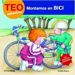 Los libros de Teo | Montamos en bici | +3 años