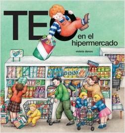 Los libros de Teo | Teo en el hipermercado | +3 años