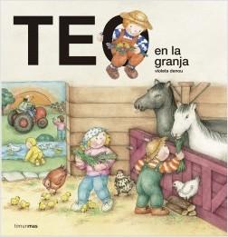 Los libros de Teo | Teo en la granja | +1 año