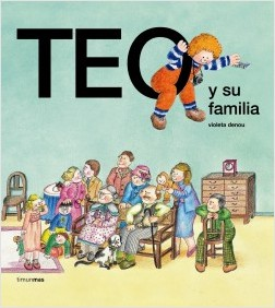 Los libros de Teo | Teo y su familia | +3 años