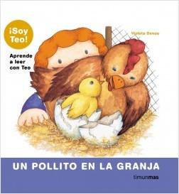 Los libros de Teo | Un pollito en la granja | +5 años