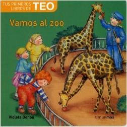 Los libros de Teo | Vamos al zoo | +1 año