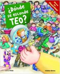 Los libros de Teo | ¿Dónde se esconde Teo? | +3 años