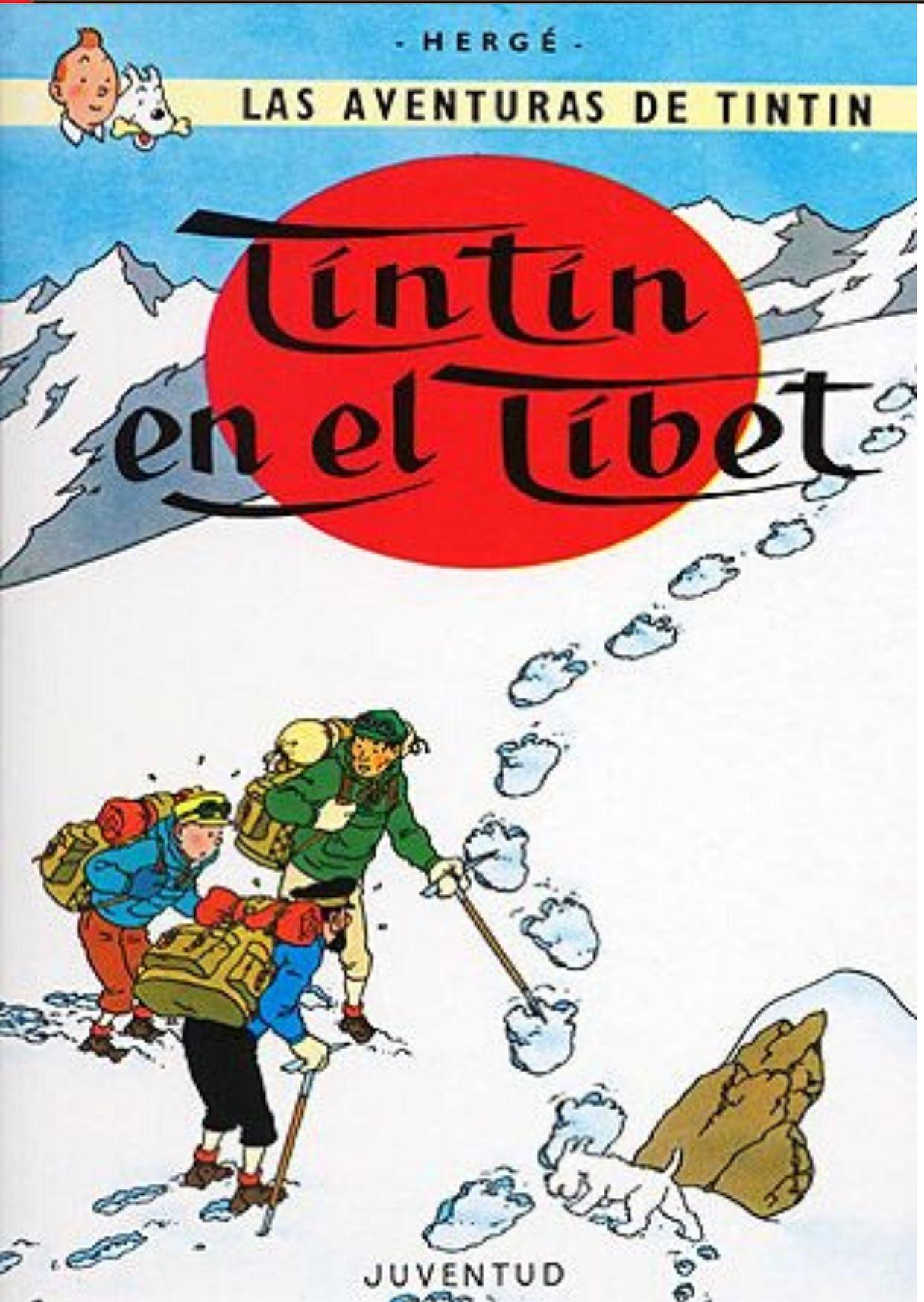 ≫ Tintín en el Tíbet