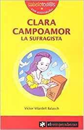 Libros feministas para niñas, niños y jóvenes | Clara Campoamor, la sufragista | +9 años