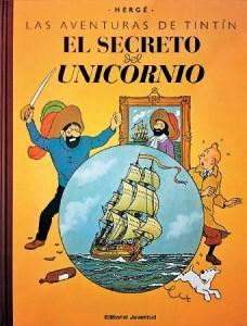 Las aventuras de Tintín | Libros en español | El secreto del Unicornio | Gran formato