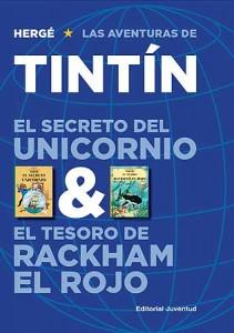 Las aventuras de Tintín | Libros en español | El secreto del Unicornio & El tesoro de Rackham el Rojo | Álbum doble