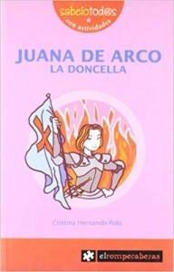 Libros feministas para niñas, niños y jóvenes | Juana de Arco, la doncella | +9 años