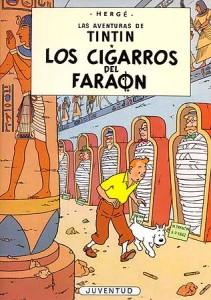 Las aventuras de Tintín | Libros en español | Los cigarros del faraón