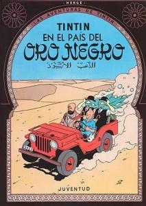 Las aventuras de Tintín | Libros en español | Tintín en el país del Oro Negro