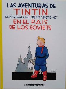 Las aventuras de Tintín | Libros en español | Tintín en el país de los soviets