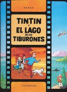 Las aventuras de Tintín | Libros en español | Tintín y el lago de los tiburones