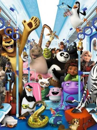 Todas las películas de animación de Dreamworks Animation