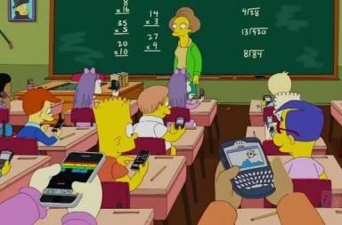 móviles en clase