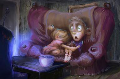 películas terroríficas para niños