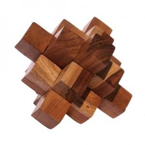 Puzzles de madera. Puzzles de ingenio