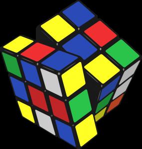 Cubo de Rubik. Puzzles de ingenio