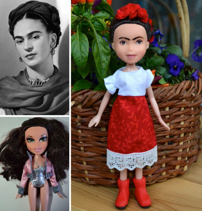 'Mighty Dolls' de Wendy Taso (Frida Kahlo)