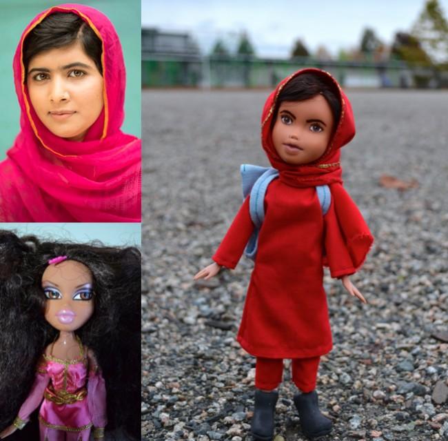 'Mighty Dolls' de Wendy Taso (Malala Yousafzai)